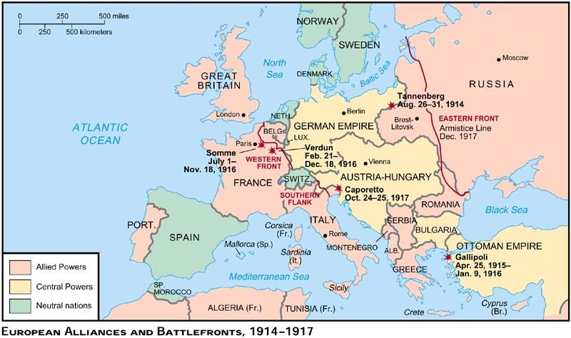 Clearly Defined Map Europe Pre World War 1 Ww1 Outline Map Blank