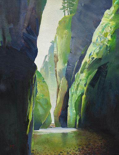 """Oneanta 2011""by Randall David Tipton"