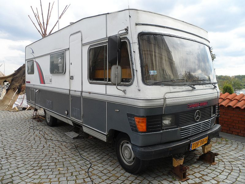 Mercedes hymer mobil motorhome and rv campers for Mercedes benz rv camper