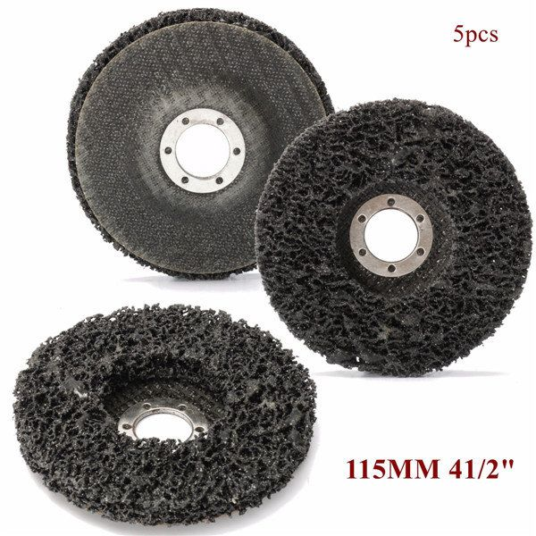 115mm Abrasive Disc Rust And Paint Removal Polycarbide Abrasive Stripping Disc Wheel Paint Remover Abrasive Rust