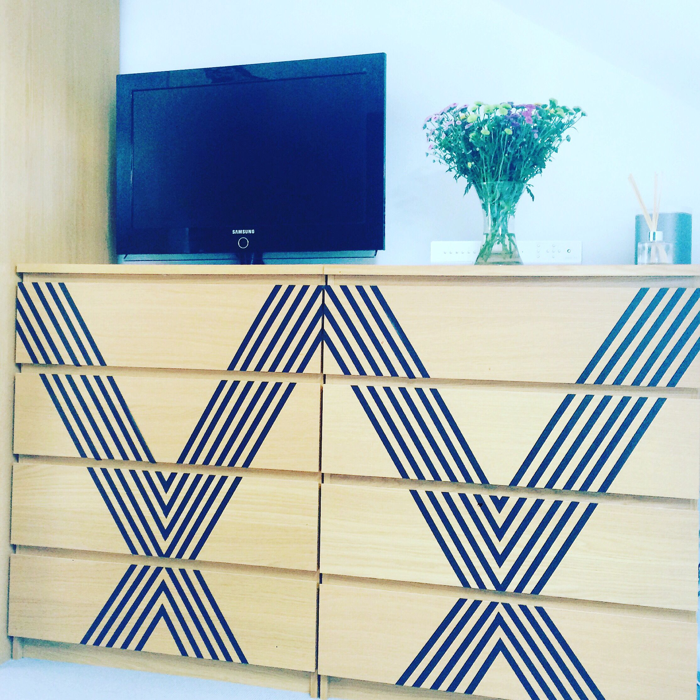 IKEA malm hack! I needed to update my bedroom furniture to fit with ...