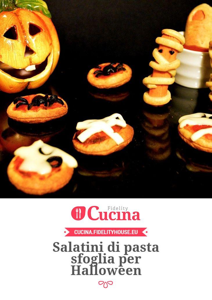 Salatini di pasta sfoglia per Halloween   Recette   Ricette di ...