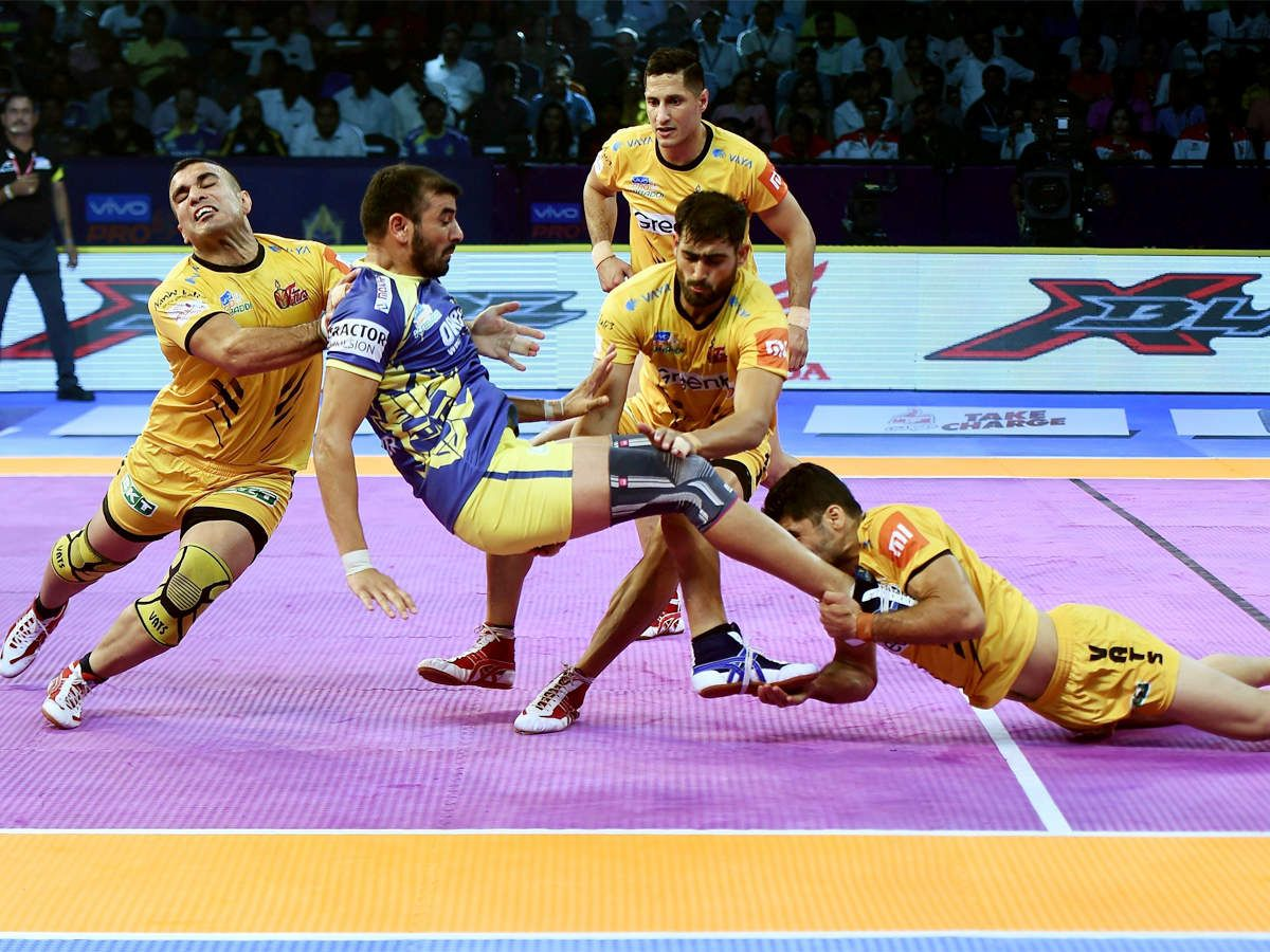 U Mumba vs Telugu Titans, Pro Kabaddi 2018 Live Score