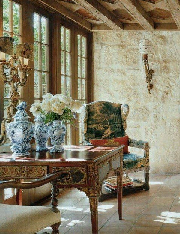 Old World Decor Ideas Mediterranean Decor World Decor French Interior Design
