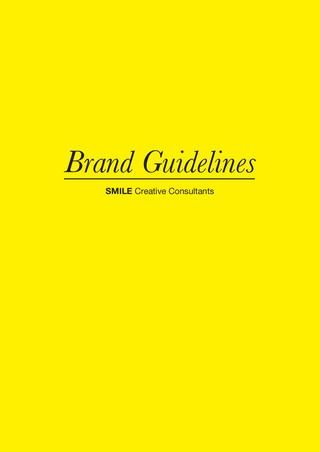SMILE Brand Guidelines
