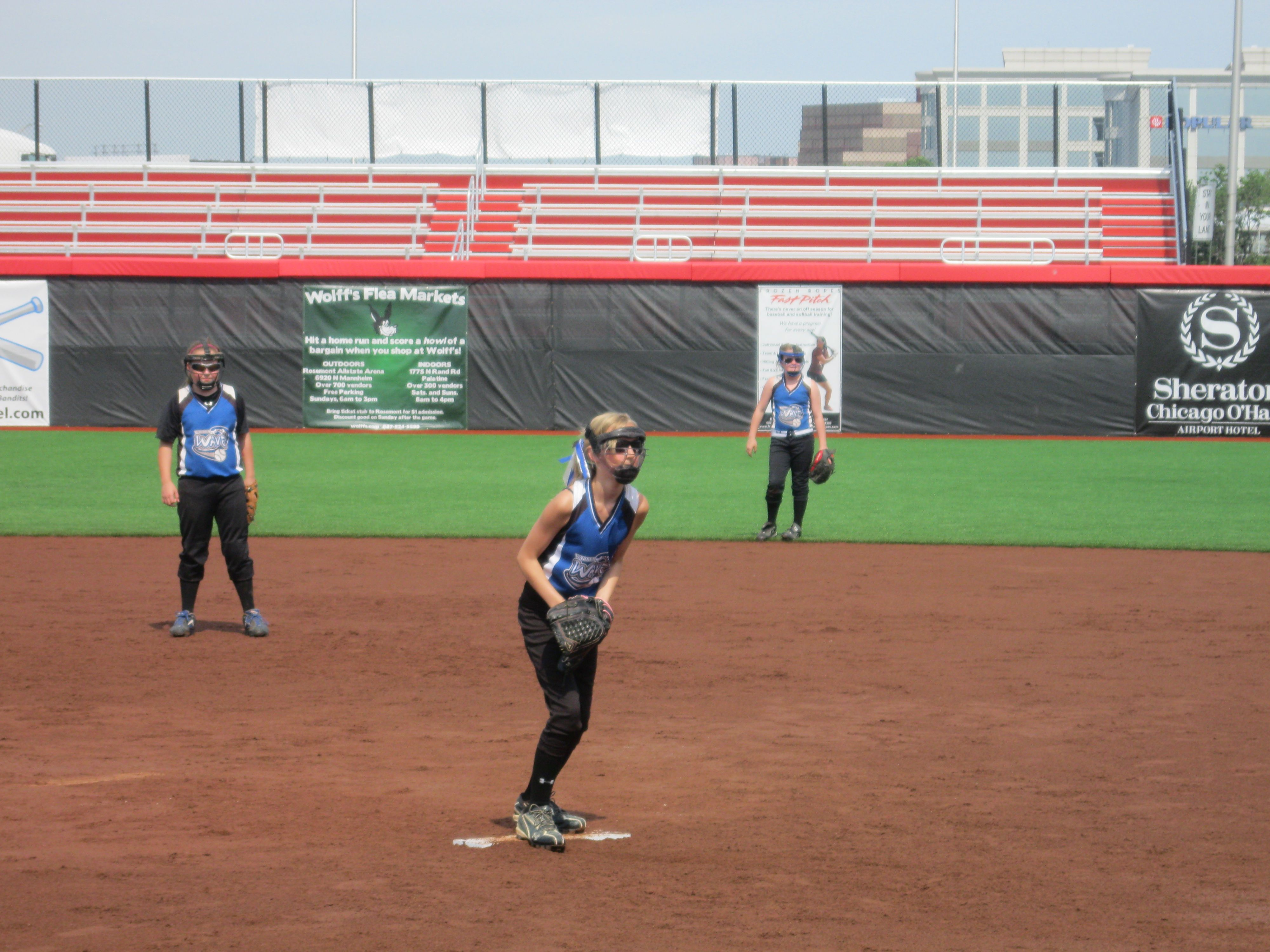 Taylor Pitching At The Bandit S Stadium With Images Stadium Granddaughter Basketball Court
