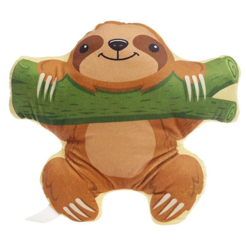 Plush sloth cushion sloth stuffed animal sloth sloth