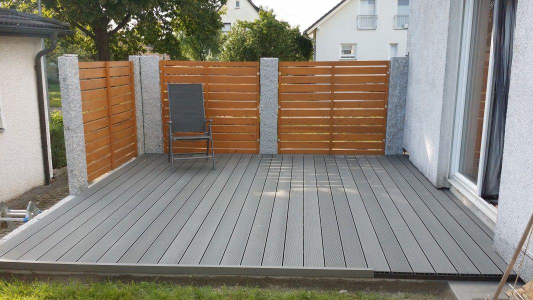 Terrassendielen Holz Grau ZV53 – Hitoiro