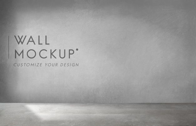 Download Empty Room With A Gray Wall Mockup For Free Free Mockup Grey Walls Empty Room