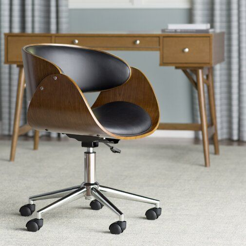 Lounge Room Design In Refined Transitional Style: Office Chair, Modern Office Chair, Chair