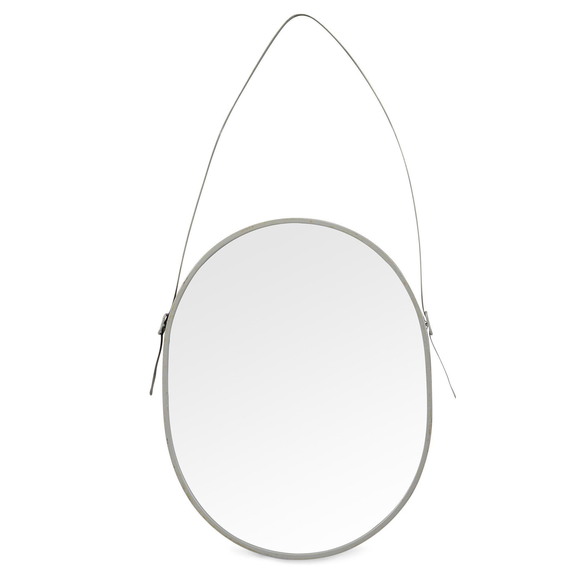 miroir ovale 78x51cm dolat miroirs vases objets de. Black Bedroom Furniture Sets. Home Design Ideas