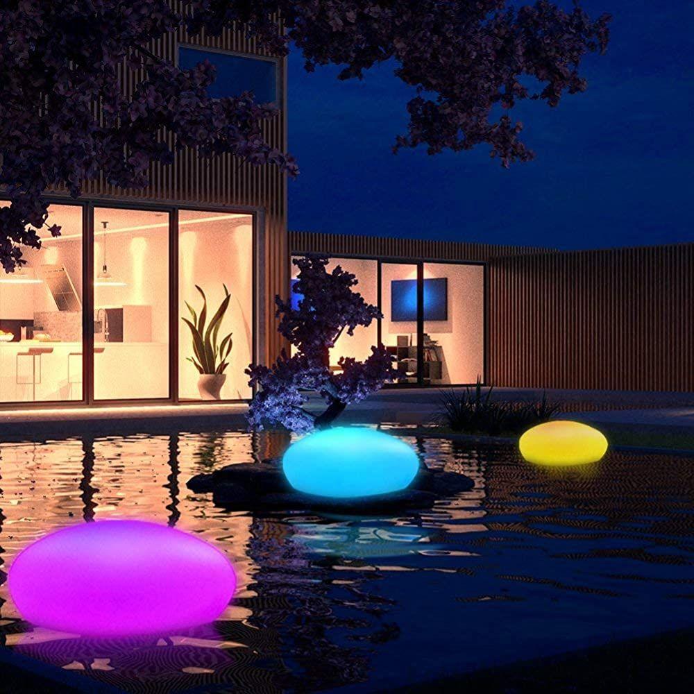 Grosse Led Solarlampe Garten Solarleuchte Mit Fernbedienung Solar Stein Kugel Bodenleuchte Dekoleuchte Auss In 2020 Solarleuchten Garten Solarleuchten Solarlampen Garten
