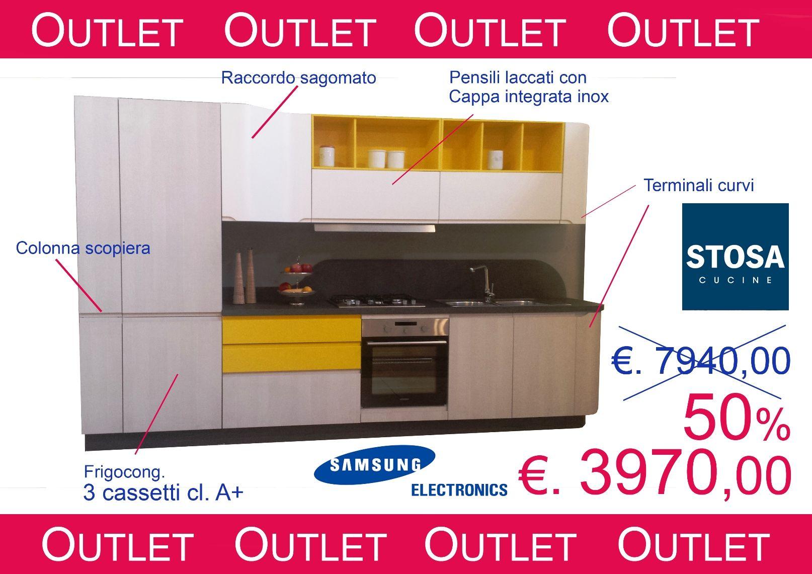 Paoletti Industria Mobili Roma.Prodotti Outlet Cucina Bring Sconto 50 Per Cento Paoletti