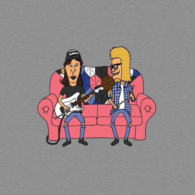 Beavis and butthead waynes world