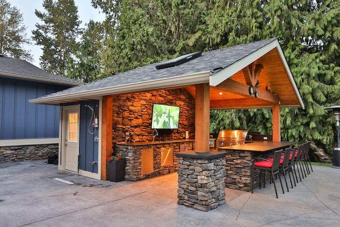 Outdoor Küche Aus Stein Selber Bauen : ▷ 1001 ideen und bilder zum thema außenküche selber bauen pinterest