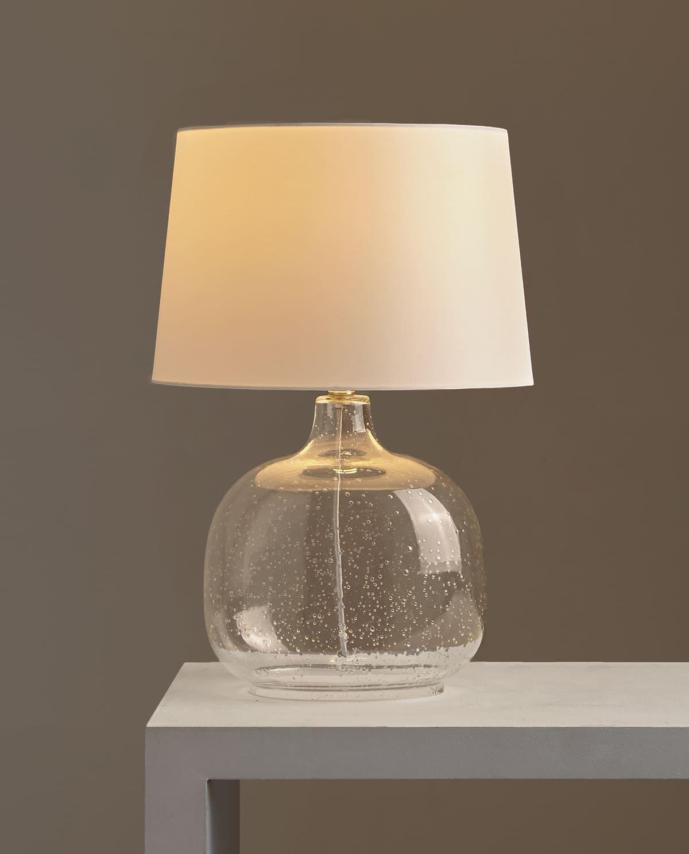 Lampe Base Verre Pied De Lampe En Verre Lampes Vintage Et