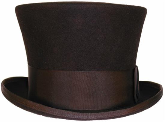 Belled Crown Top Hat 6 7 8 21 1 2 55cm Small Black Top Hat Masonic Hats Hats