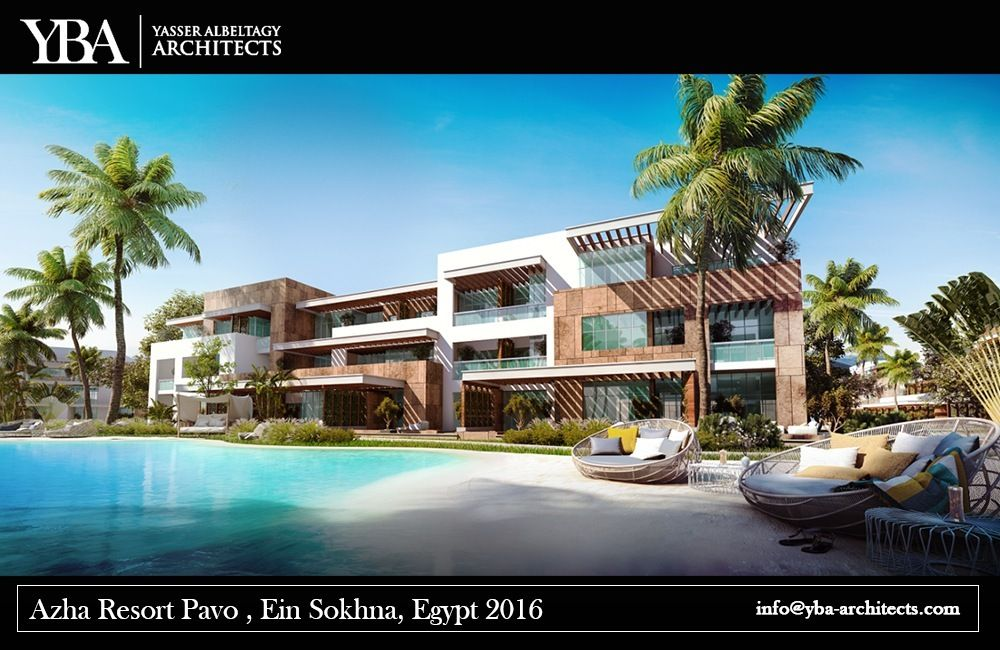 Our projects azha resort apartment bulding ain_soukhna