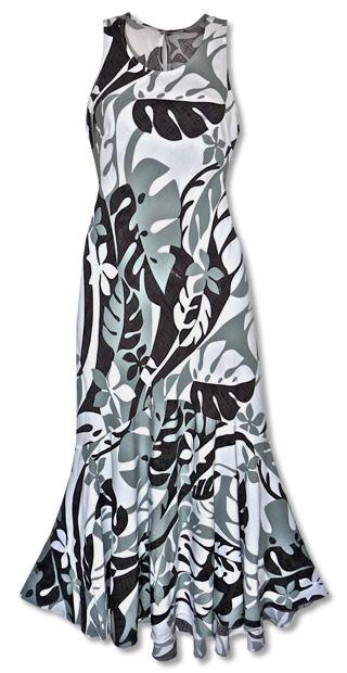 162b51b45d5 Jazz Silver Hawaiian Dress