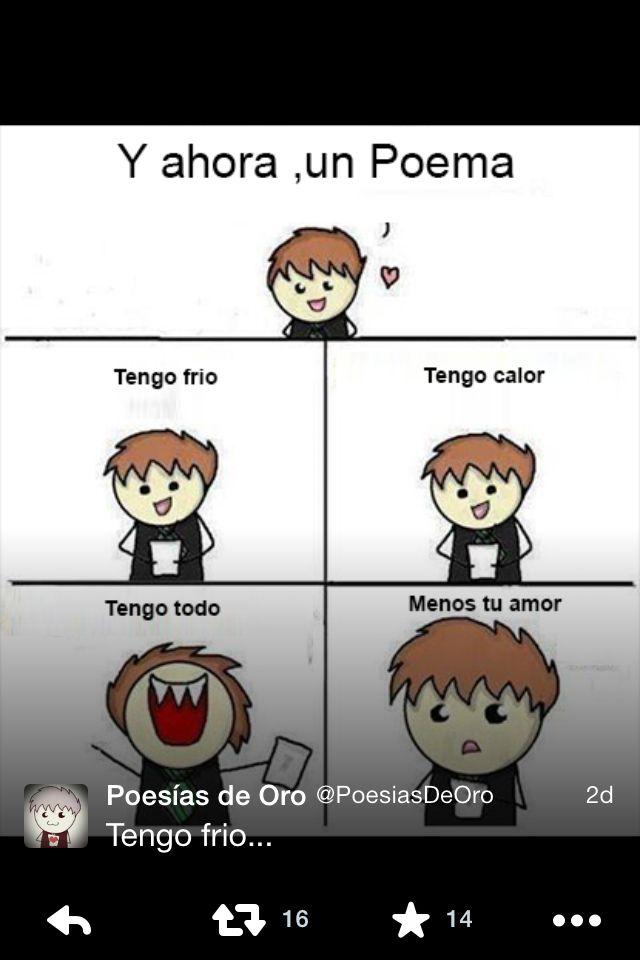 Tengo Frio Poemas Divertidos Poemas Graciosos Y Ahora Un Poema