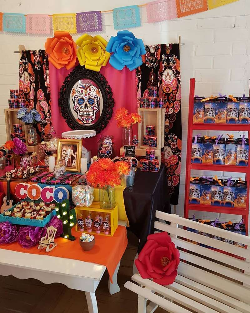 Coco Birthday Party Ideas Fiesta Coco Pinterest