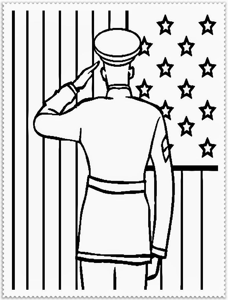 Veterans Day Coloring Pages For Children Veterans Day Coloring