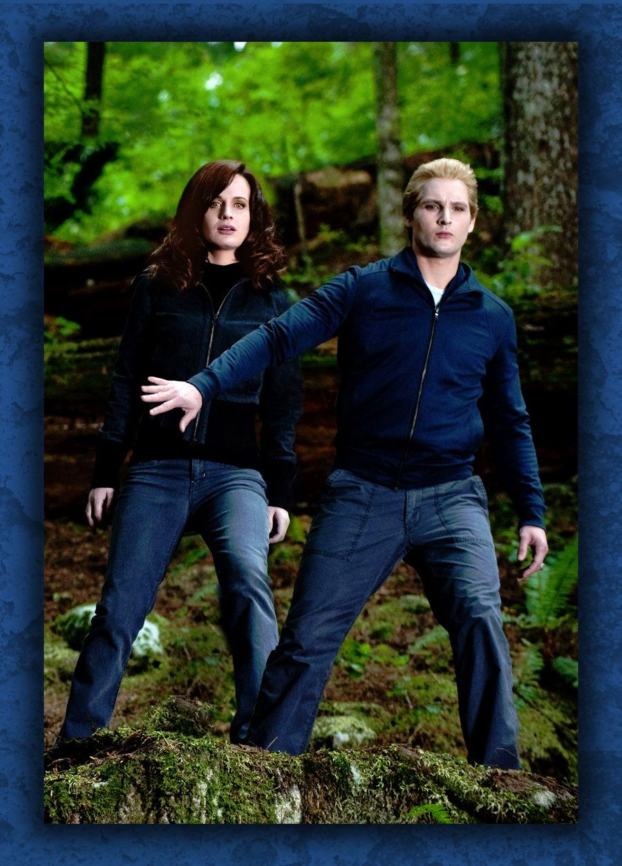Carlisle protecting Esme by Just4MeAgain deviantart com on
