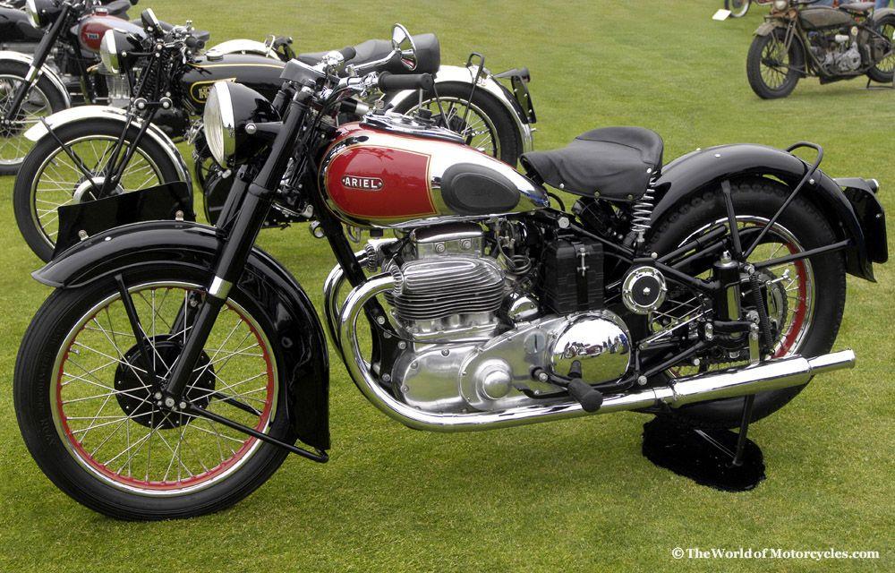 1950 Ariel Square Four Motorcycle Motorcycle Ariel Motorcycles Vintage Bikes
