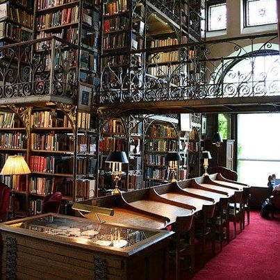 Andrew Dickson White Library, in Uris Library