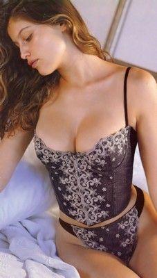 Laetitia casta for vs lingerie victoria 39 s secret catalog - Casta diva vintage ...