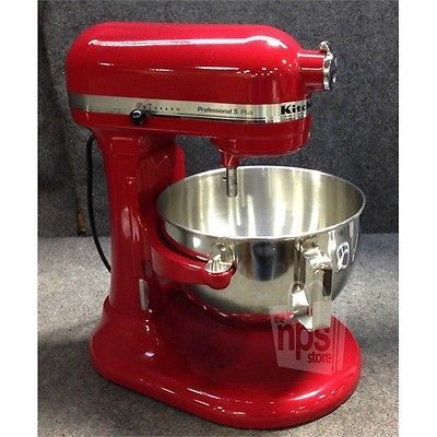 KitchenAid KV25G0XER Pro 5 Plus Bowl Lift Stand Mixer 5Qt Red w/3 Attachments https://t.co/daR3goSUW6 https://t.co/BECT6C6t0b