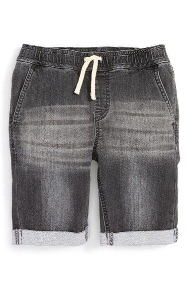 3283d97c6a Hudson Kids Knit Denim Cuffed Shorts (Toddler Boys & Little Boys ...