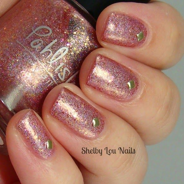 Shelby Lou Nails - Pahlish - The Good Dalek - Bespoke Batch - with flash