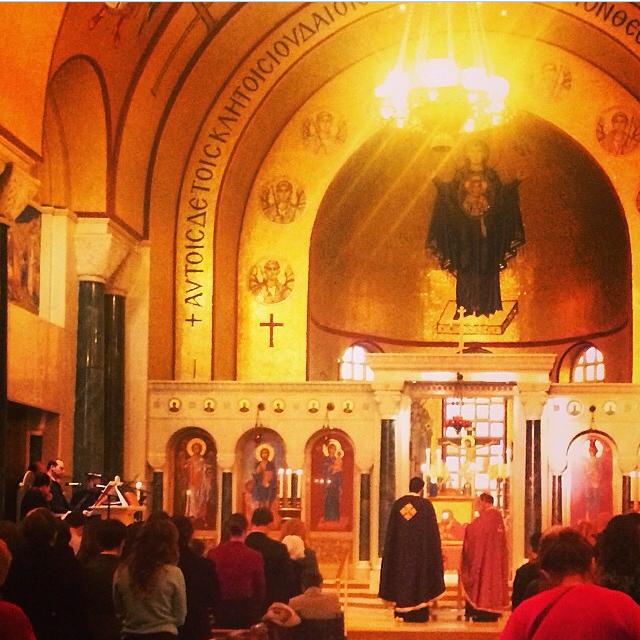 Washington, DC, Saint Sophia Greek Orthodox Cathedral, Holy