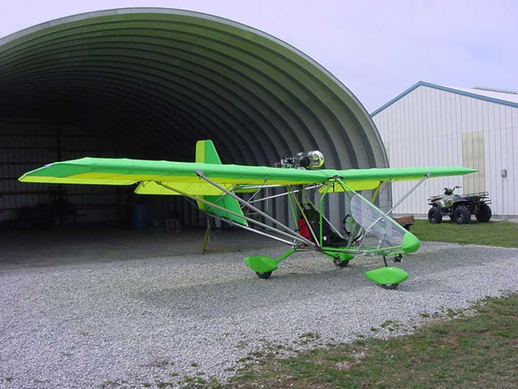 The Aerolite 103 ultralight aircraft is for sale by U-FLY-IT