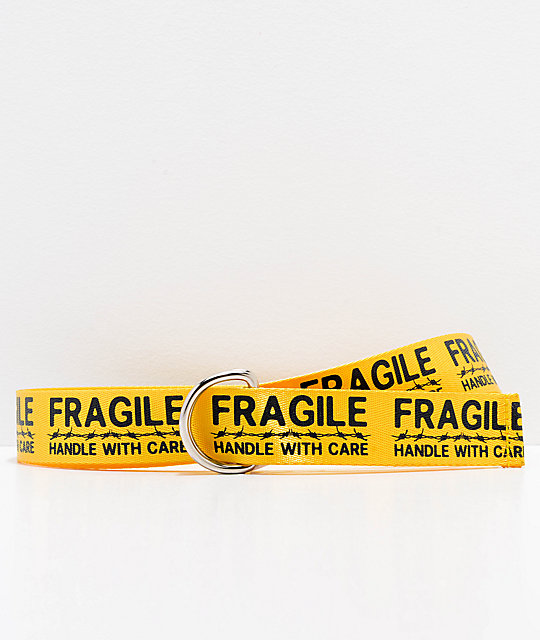 Petals & Peacocks Handle With Care Yellow Belt | Zumiez #yellowaesthetic