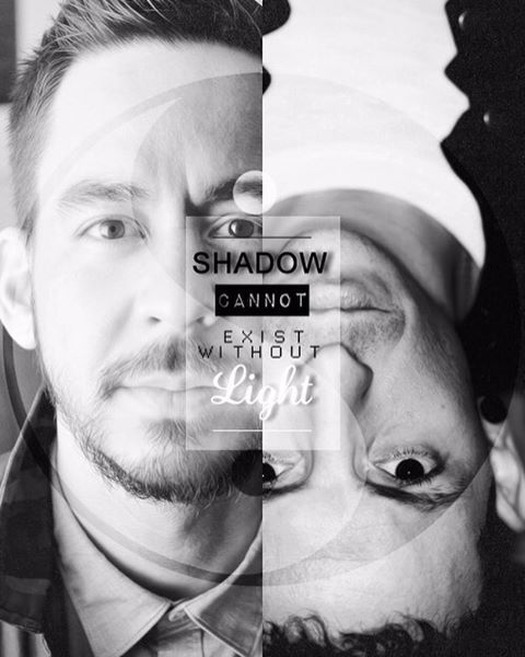 This is still the best wallpaper of all time. #MikeShinoda #ChesterBennington #LinkinPark