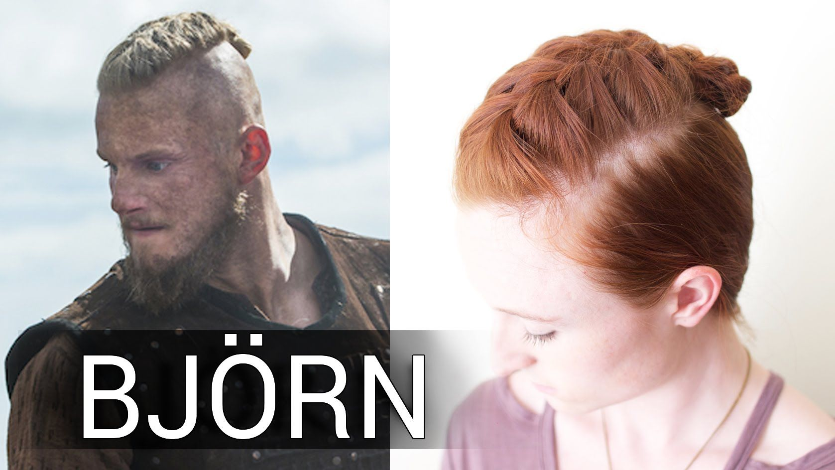 Easy Viking Hair for Men , Bjorn\u0027s French Braid
