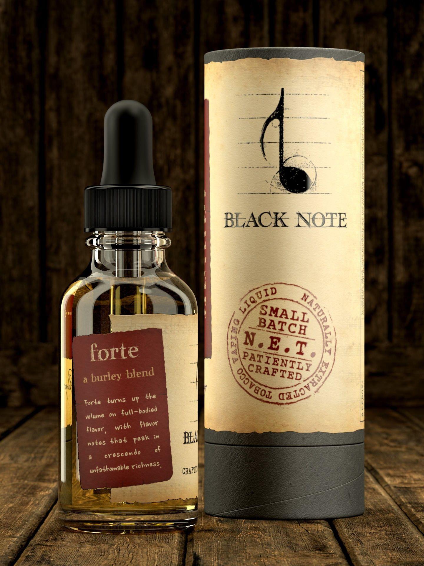 Forte - Black Note E Liquid #eliquidwholesale   The Vape