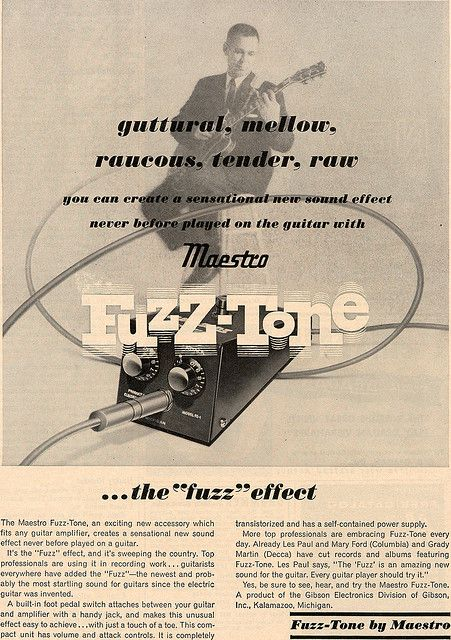 vintage maestro fuzz tone ad musician dreams effects and oddities bass amps diy guitar. Black Bedroom Furniture Sets. Home Design Ideas