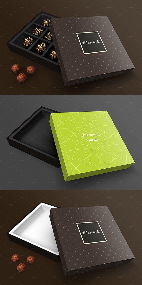 35 Chocolate Packaging Mockup Psd Templates Box Mockup Box