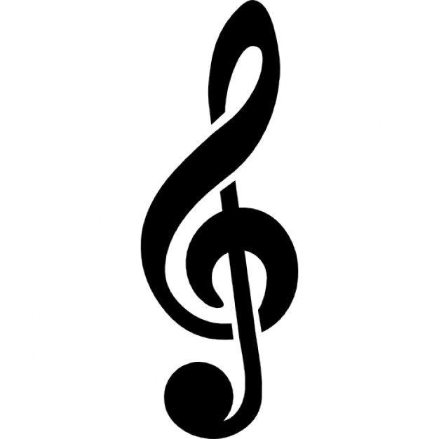 Clave De Sol Bonita Buscar Con Google Nota Musical Desenho Simbolos Musicais Clave De Sol
