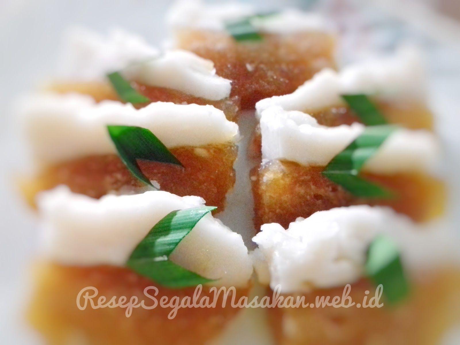 Resep Membuat Kue Talam Singkong Resep Segala Masakan Web Id Ide Makanan Makanan Resep