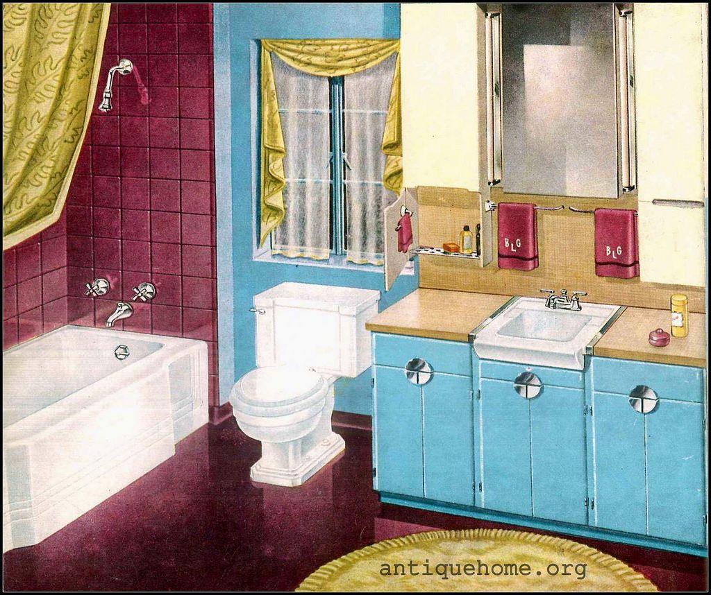 1950 Standard Plumbing | Retro bathrooms, Kitchens and Bungalow
