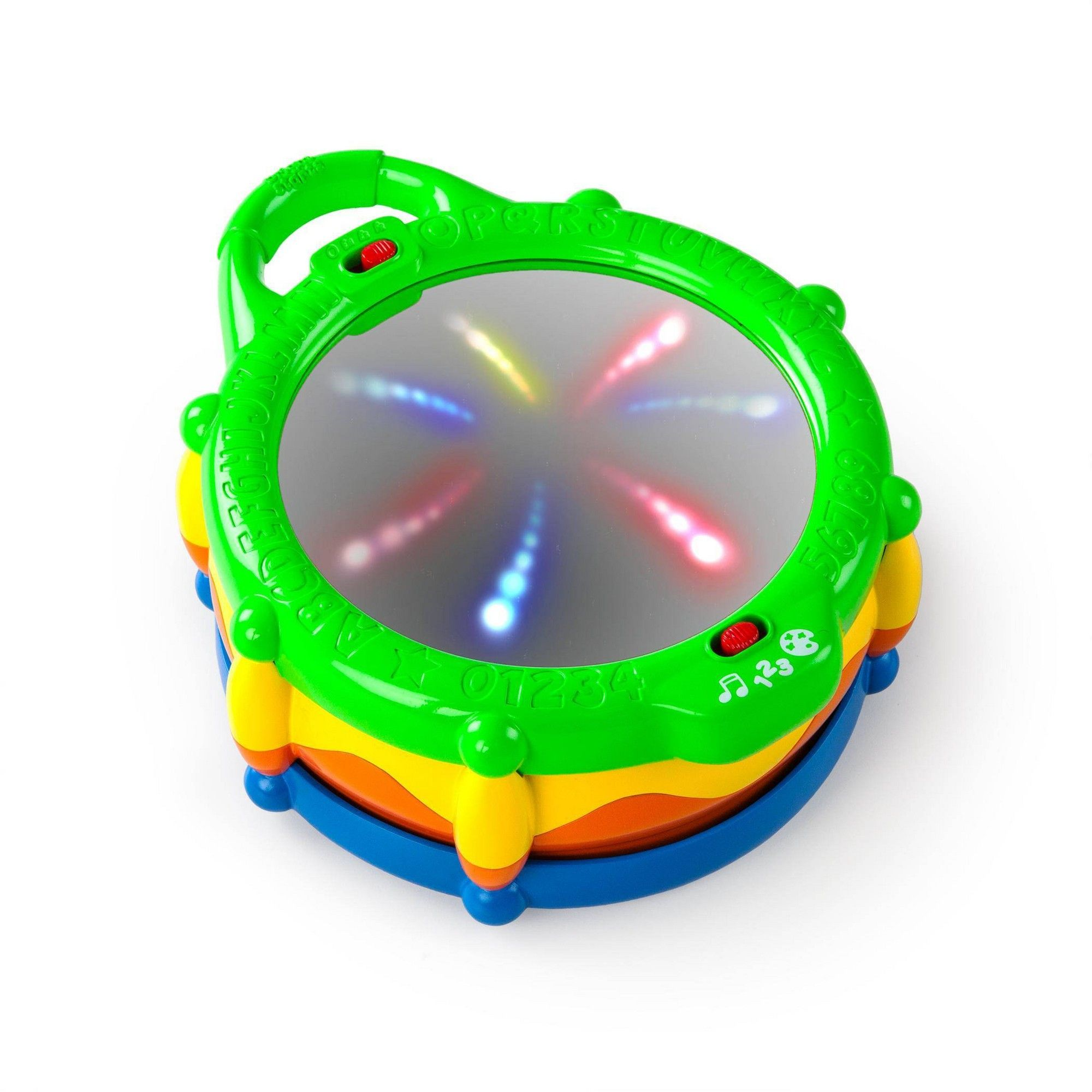 Calming Sensory Visual Musical Light Educational Drum Autism Special Needs Toy