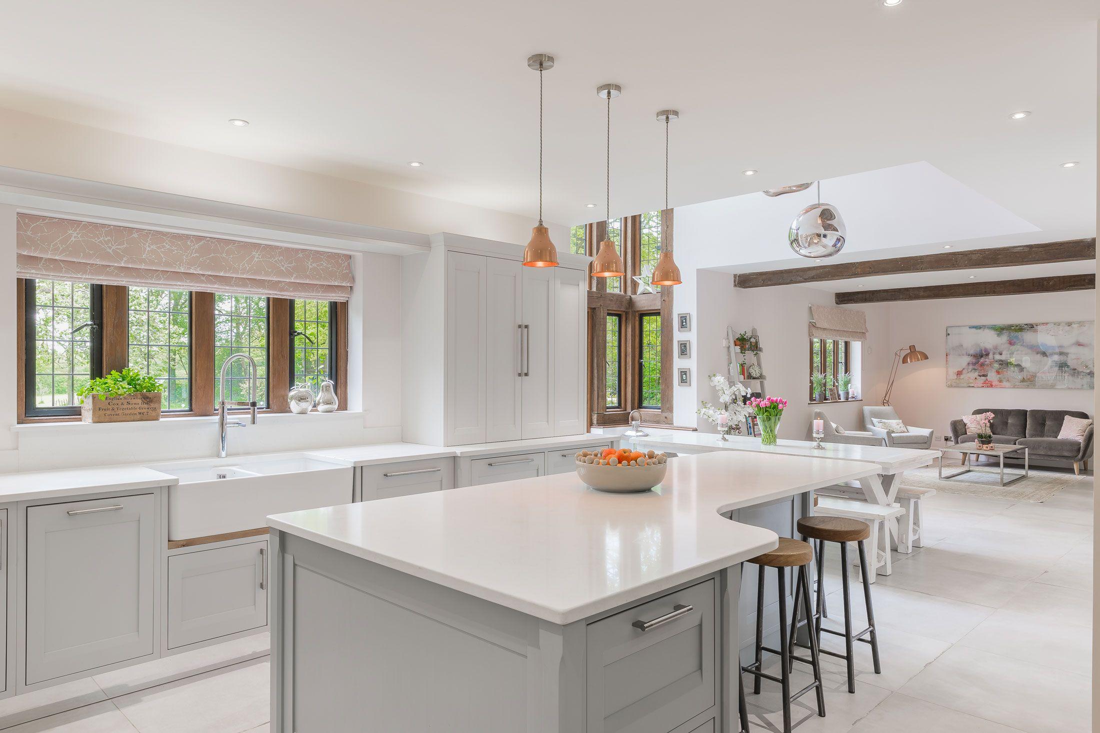 Zoe Price Interiors | Grey kitchen designs, Kitchen design ...