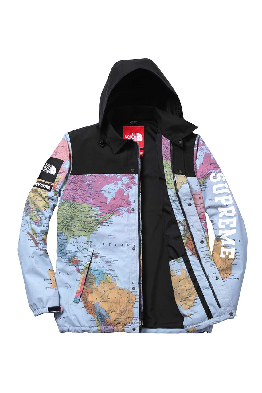 Supreme X The North Face 2014 Spring Summer Collection Supreme Clothing North Face Jacket Jackets