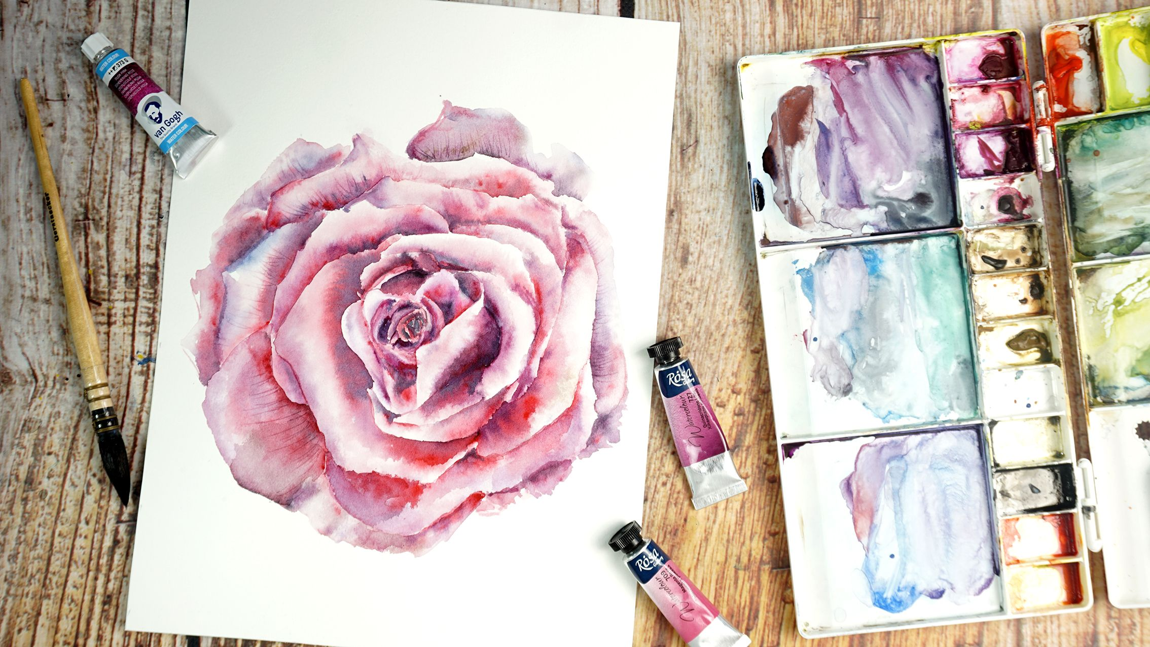 From Anywhere With 95 Videos Aquarelle