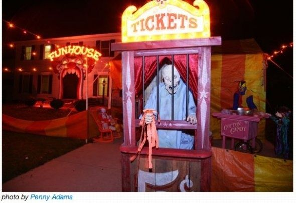 Carnival Halloween Party Ideas.Scary Carnival Decorations Creepy Carnival Halloween Party