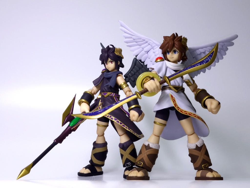 Figmas Kid Icarus Uprising Figures By M Sakurai On Twitter